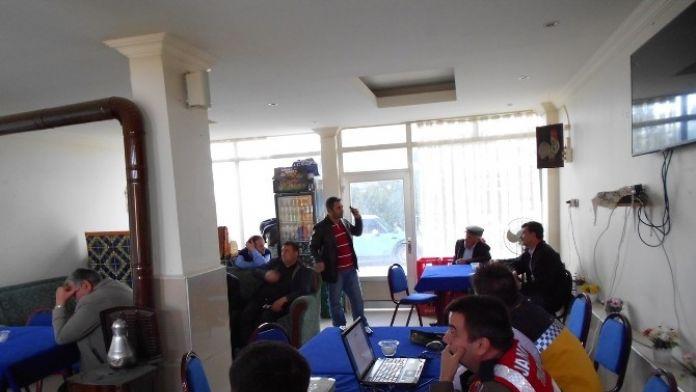 Aksaray'da Güvenli Traktör Kullanımı Eğitimi Verildi
