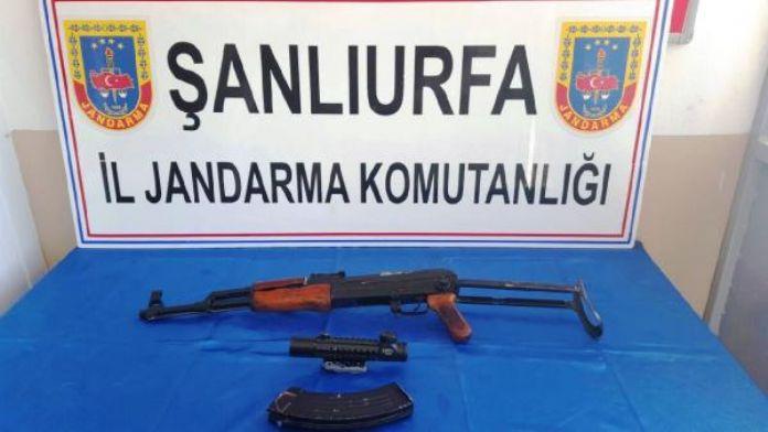 Şanlıurfa'da silah kaçakçılığına 2 tutuklama
