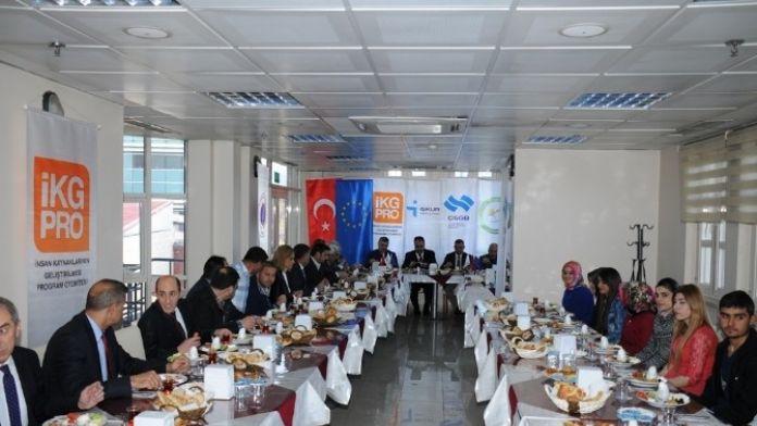 Iğdır'da 'Serhat İlleri Lojistik Sektöründe Genç İstihdamın Desteklenmesi' Projesi