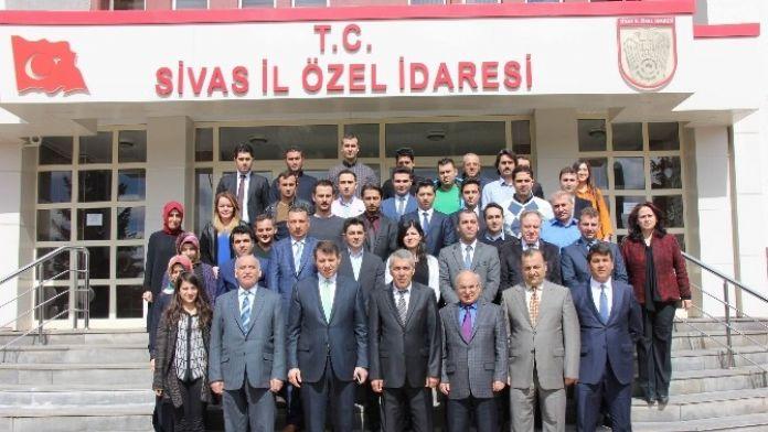 Sivas İl Özel İdaresi'nde Projeler Değerlendirildi