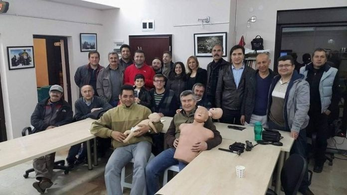 Afdos'da İlk Yardım Eğitimi Bu Hafta Da Devam Etti