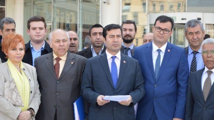 CHP'den Cumhurbaşkanı Ve Başbakana Suç Duyurusu