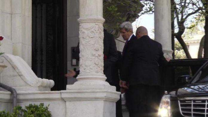 Cumhurbaşkanı Erdoğan, ABD Dışişleri Bakanı John Kerry ile biraraya geldi