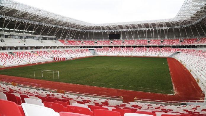 Türkiye'nin ilk 'ekolojik' stadında sona doğru