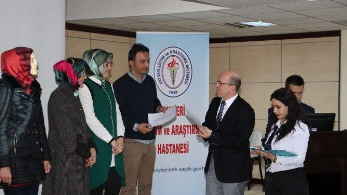 Kayseri Eğitim Ve Araştırma Hastanesinde Ameliyathane Hemşireliği Eğitimi