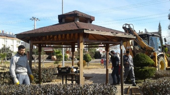 Döşemealtı Belediyesi Bahara Hazır