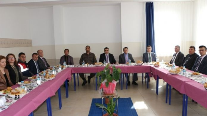 Pazarlar'da İlçe İdare Şube Başkanları Toplantısı