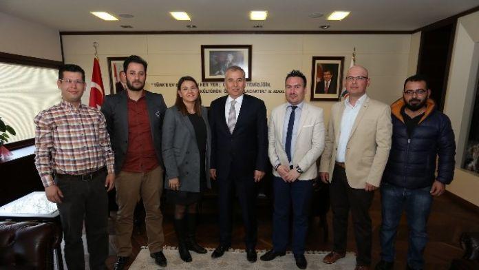 Jeofizik Mühendisleri Odası'ndan Başkan Zolan'a Ziyaret