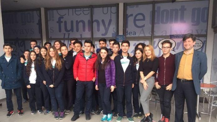 Kültür Okullarından Speaking Cafe'ye Ziyaret
