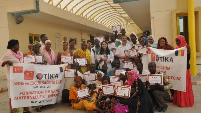 Çad Sağlık Personeline Eğitim