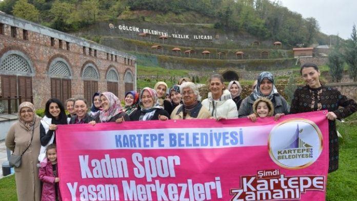 Kartepeli Kadınlar Yazlık Ilıca'da