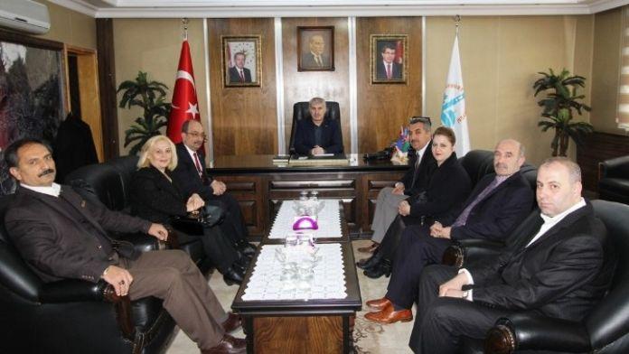 Kızılay Derneği Bayburt Şubesinden Başkan Memiş'e Ziyaret