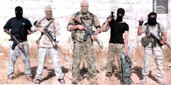 IŞİD'liler tutuklandı !