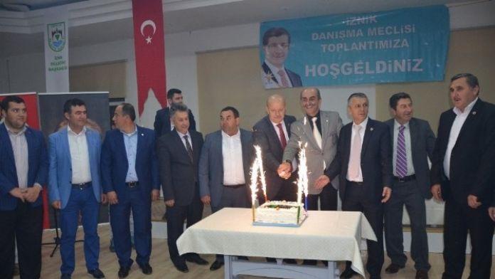 AK Parti'de Coşkulu İlçe Danışma Meclisi Toplantısı