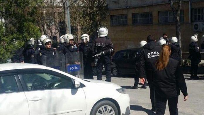 Ankara Üniversitesi'nde kavga: 19 gözaltı