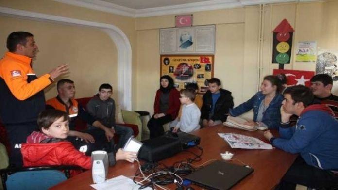 AFAD'dan 'Afet Bilinci Oluşturma' Eğitimi