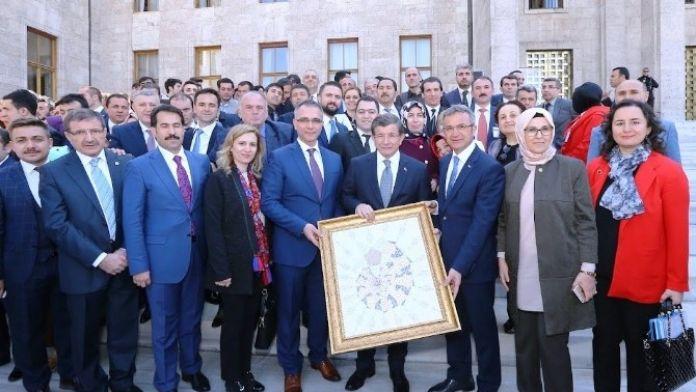 Gebze Heyetinden Başbakan Davutoğlu İle Görüştü