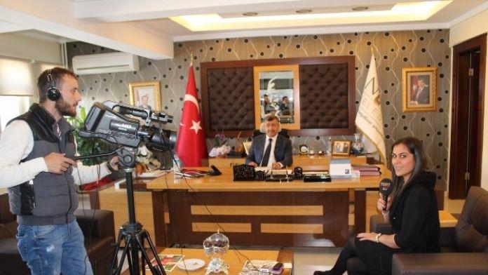 Niğde Belediye Aşkanı Faruk Akdoğan Tgrt TV'ye Niğde'yi Anlattı