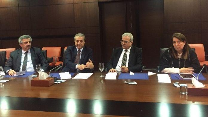 AK Parti Ekonomi İşleri Başkanlığı'ndan ASO'ya Ziyaret
