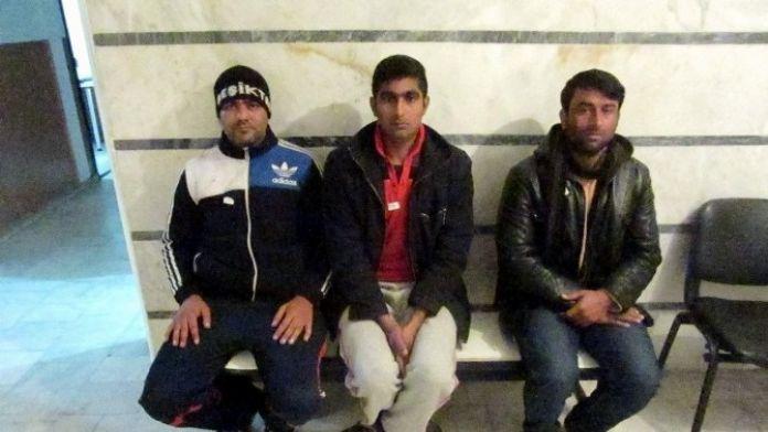 Aydın'da 6 Kaçak Göçmen Yakalandı