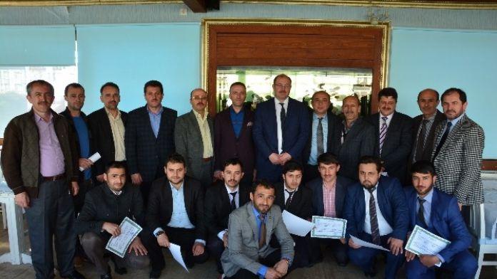 Kabadüz'de Kursiyerlere Belgeleri Verildi