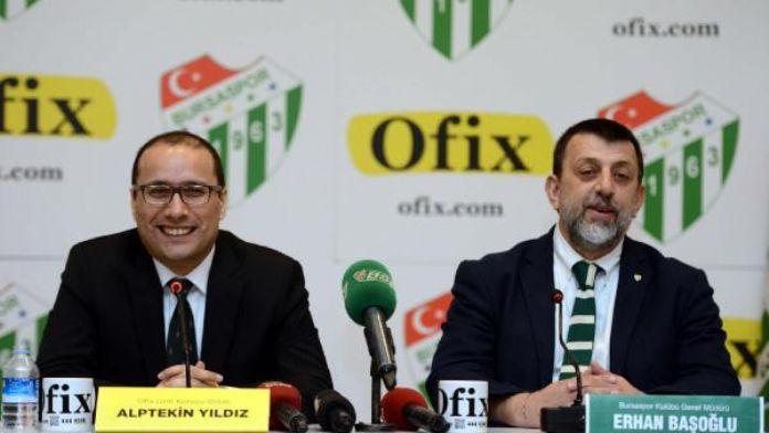 Bursaspor'a kırtasiye sponsoru