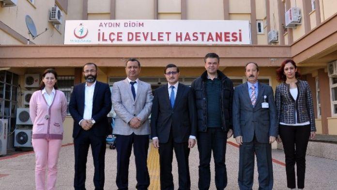 Didim Ticaret Odası'ndan Hastanenin Yeni Yönetimine Ziyaret