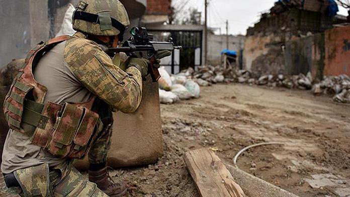 Hatay'da 1 PKK'lı öldürüldü