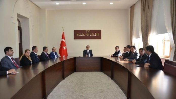 Türk Sağlık-sen'den Valiliği Ziyaret