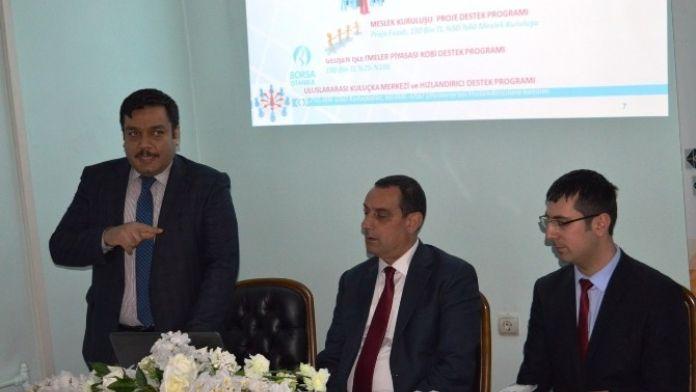 Bitlis'te KOSGEB Bilgilendirme Toplantısı Yapıldı