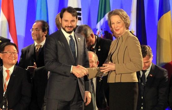 Türkiye'ye Barış Atomları Ödülü