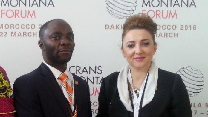 Nezaket Emine Atasoy, Liberya Cumhuriyeti Turizm Bakanı Atty Isaac W.jackson Jr İle Görüştü
