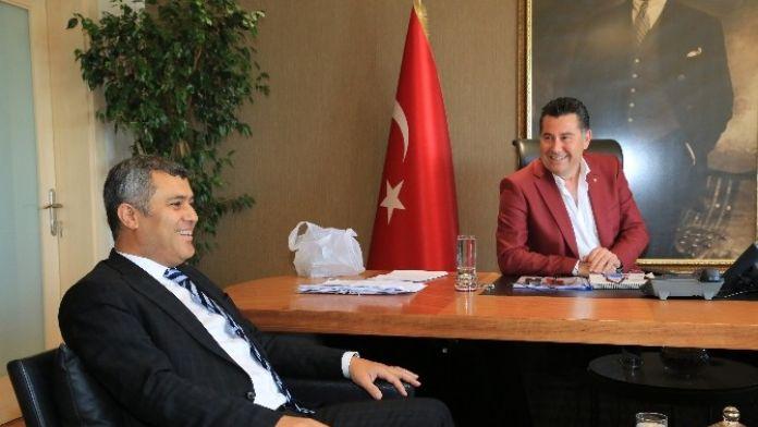 Milletvekili Üstündağ'dan Başkan Kocadon'a Ziyaret
