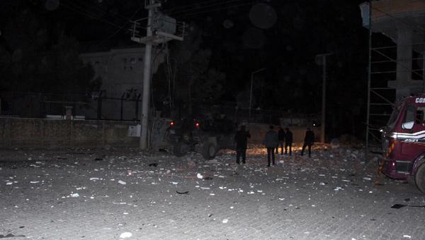 Mardin'de bombalı saldırı:1 ölü 11 yaralı
