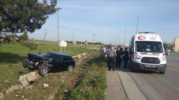 Edirne'de trafik kazası: 7 yaralı