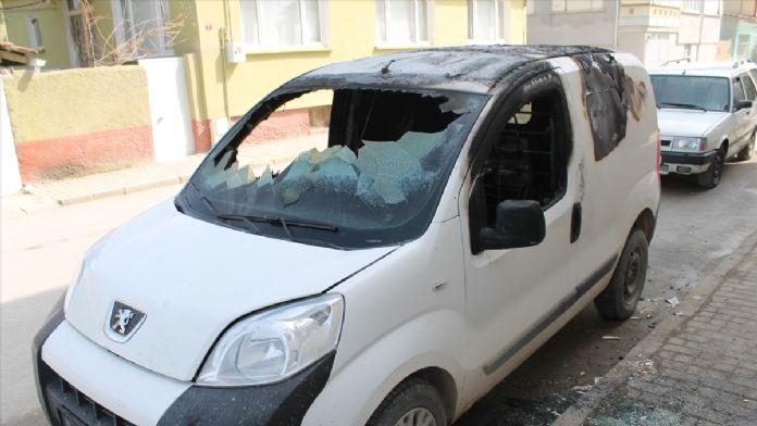 Bursa'da 3 aracın kundaklandığı iddiası