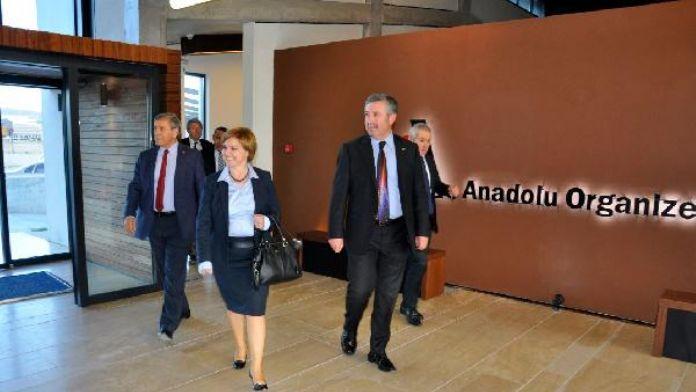 CHP Sözcüsü Böke, Anadolu OSB'yi ziyaret etti