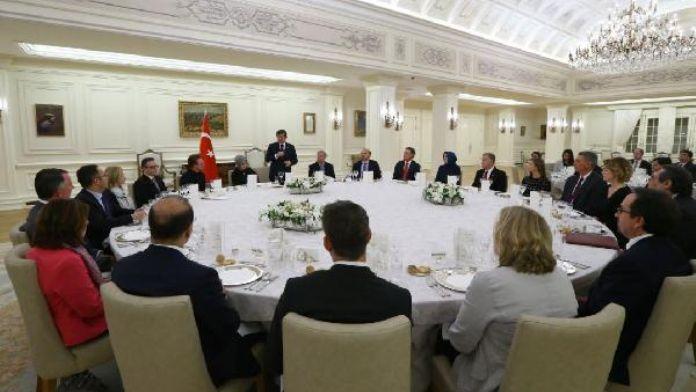 Başbakan Davutoğlu, ABD Kongre Heyeti'yle görüştü - fotoğraf