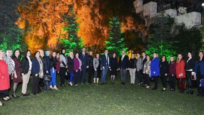Kadın Girişimciler Başkan Altepe'yi Ağırladı