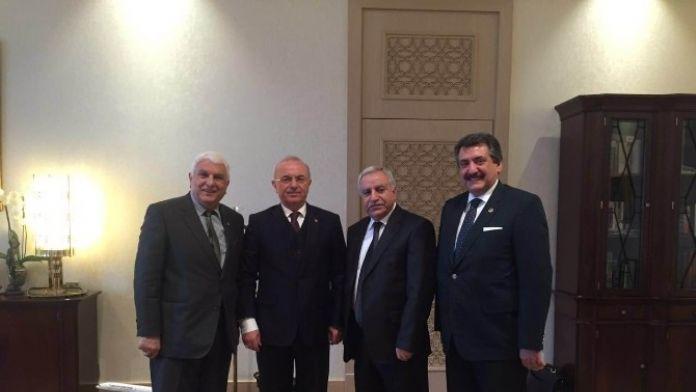 Başkan Kale, Ankara'da Çeşitli Ziyaretlerde Bulundu