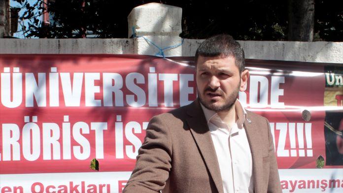'Üniversitelerde Terörist İstemiyoruz' imza kampanyası