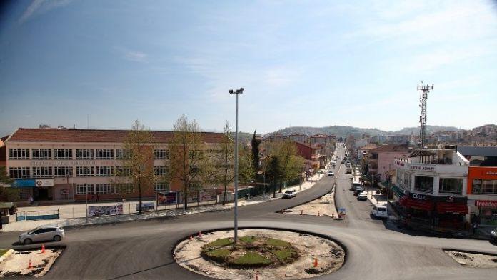 Serdivan Bağlar Caddesi Yenilendi