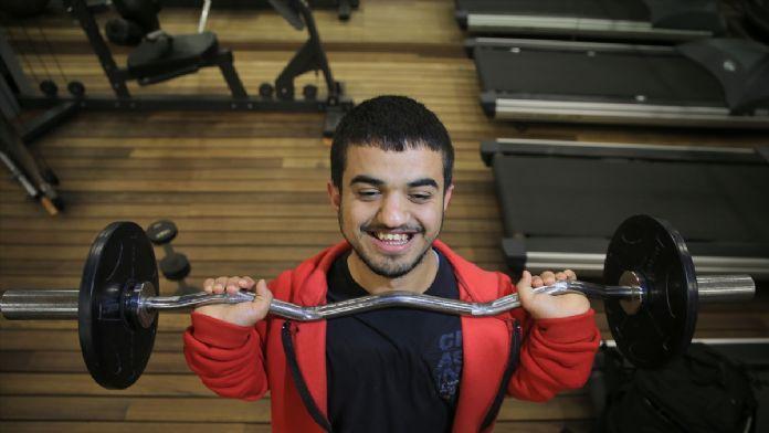 Engelli sporcunun Rio için metre hesabı