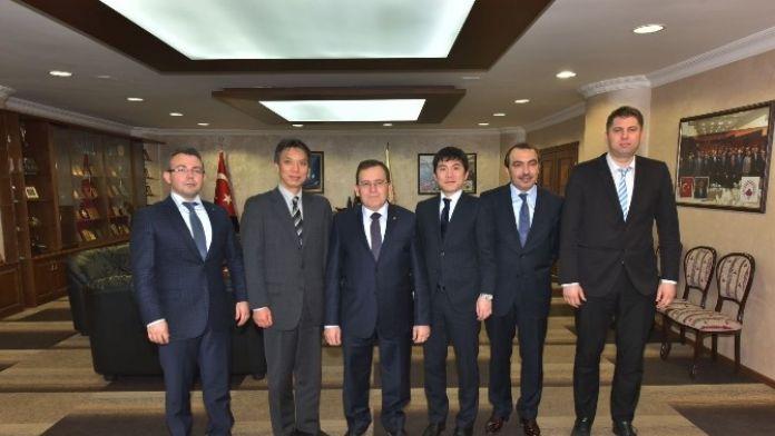 'Türk İş Adamları Japonlar'a Göre Daha Cesaretli'