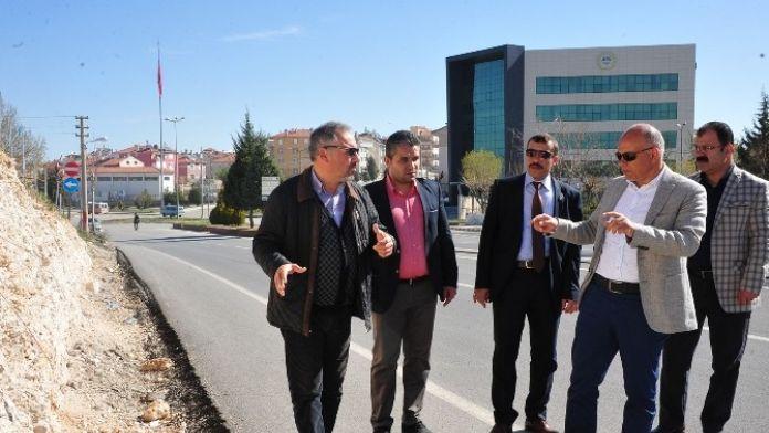 Karaman'da Yayalar İçin Üst Geçit