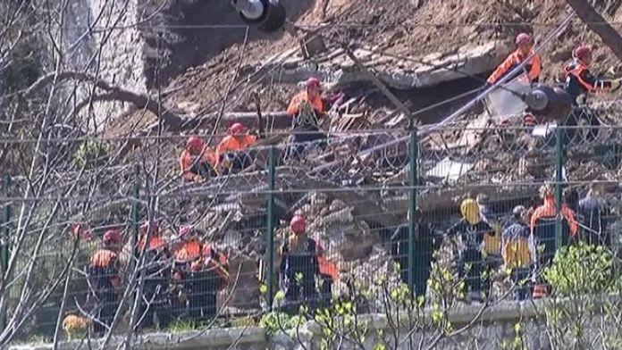 Gülhane Parkı'nda Duvar Çöktü: 1 Ölü