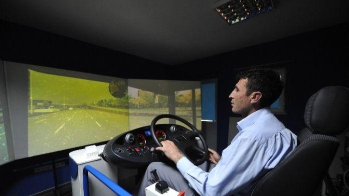 EGO Şoförlerine Simülatörlü Eğitim