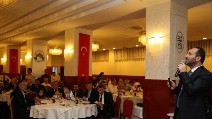 Ünyeliler Ankara'da Buluştu