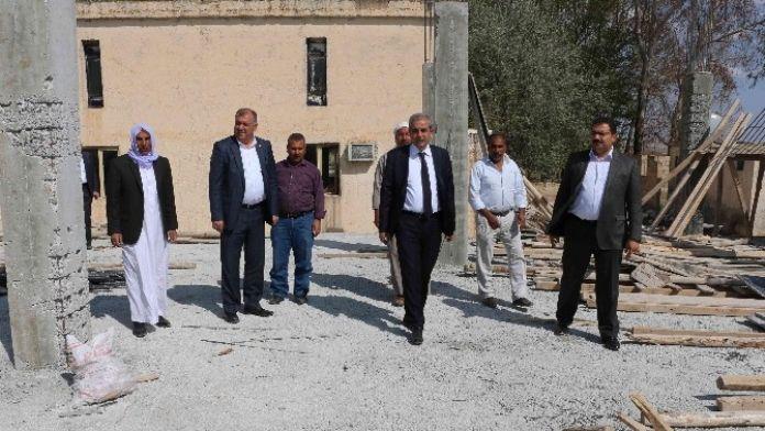 Demirkol, Uzunköy'deki Çalışmaları Denetledi