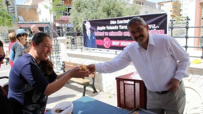 Didim MHP, Türkeş'i 19. Ölüm Yıl Dönümünde Unutmadı